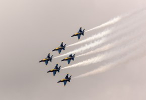 4th of July - Blue Angels by Brendan O'Brien 2