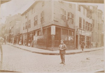 Corner Prince and Salem Streets 1893 (Courtesy of Boston Public Library)