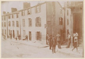 Lime Alley and Charter St 1893 (Courtesy of Boston Public Library)