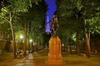 2012-07 | Prado - Paul Revere Mall at Night 34