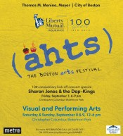 10th Anniversary Boston Ahts Festival