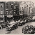 Hanover St. in 1948, looking from Richmond to Prince Street. Public Domain, Courtesy of the City of Boston Archives.
