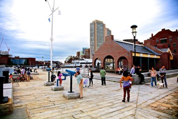 Long Wharf Pavilion (Photo by Matt Conti)