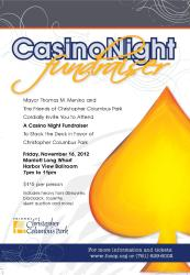 foccp flyer casino night 2012