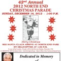 Christmas Parade 2012 Flyer