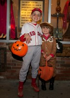 Trick or Treating on Salem Street