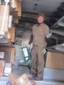 Stevie Wonder, UPS Guy - December 2012 - Photo by Anonymous
