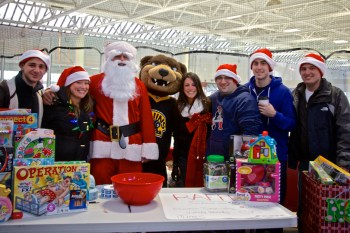 North End Columbus Day Committee at the 5th Annual Santa Skate and Toy Drive