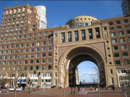Rowes Wharf Arch - NorthEndWaterfront.com photo