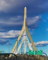 Zakim Bridge - January 2013 - Photo by Matt Conti