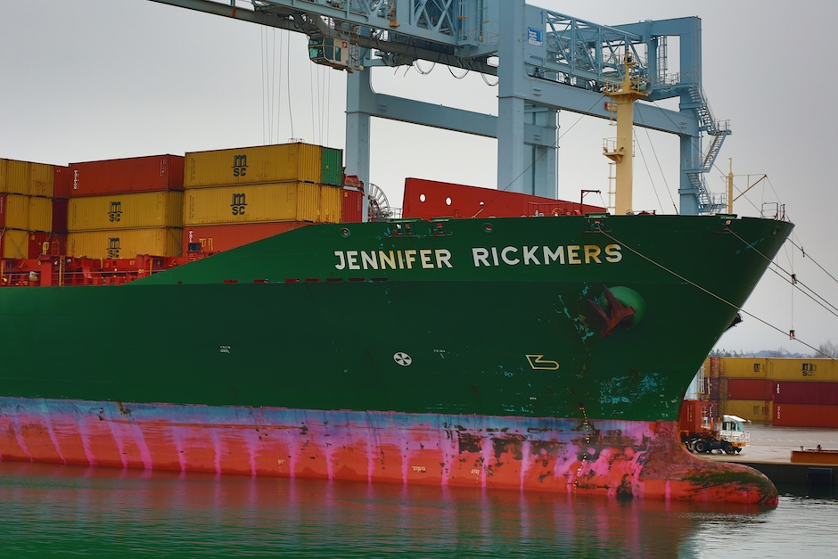 Jennifer Rickers - Container Ship