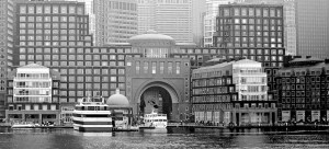 Rowes Wharf Arch - January 2013 (Photo by Matt Conti)