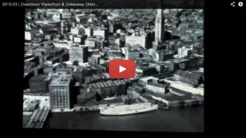 Downtown Waterfront Planning Initiative Video