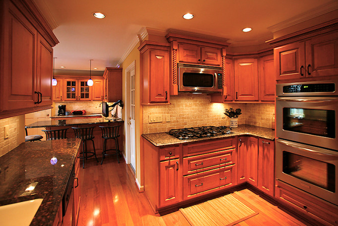 Buying Kitchen Cabinets On A Budget Finished Kitchen