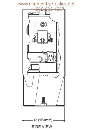 Bucher/Monarch Pump Model M-719 Dyna-Jack Power Unit