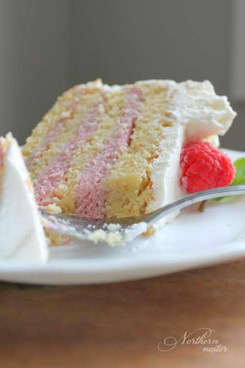 Medium Of Raspberry Cake Filling