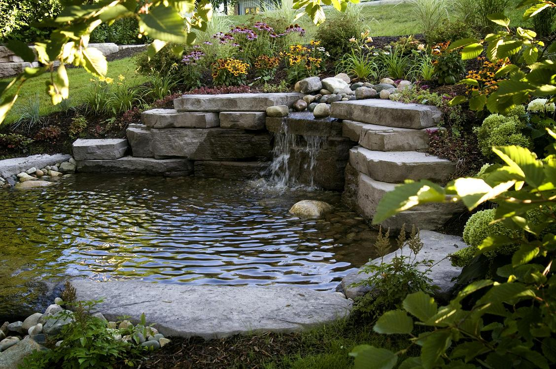 Garten-teich-service Water Features Northern Nurseries Stone Center