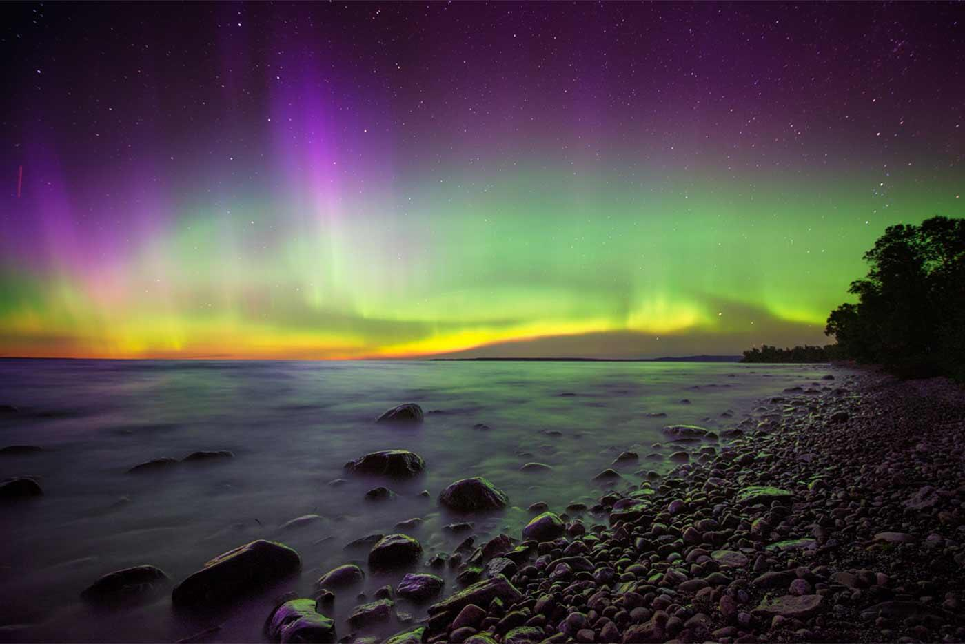 Car Player Auroras In Algoma | Northern Ontario Travel