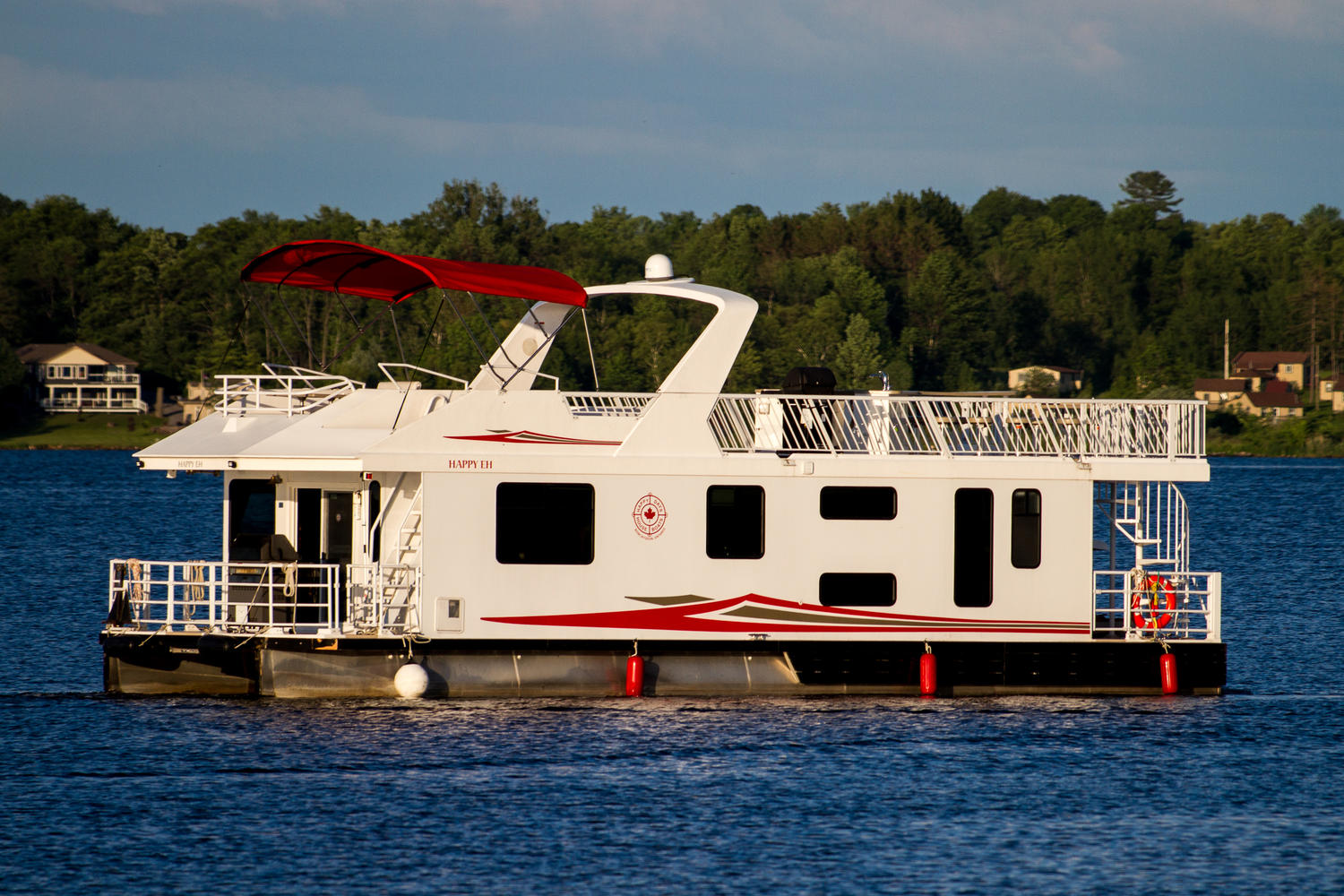 Boat Ceiling Fan Trent Severn Waterway Houseboat Rentals With Happy Days Houseboats