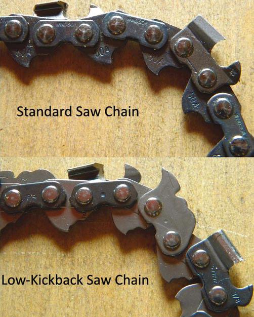 Tricks of the Trade Understanding Low-Kickback Saw Chain Summer