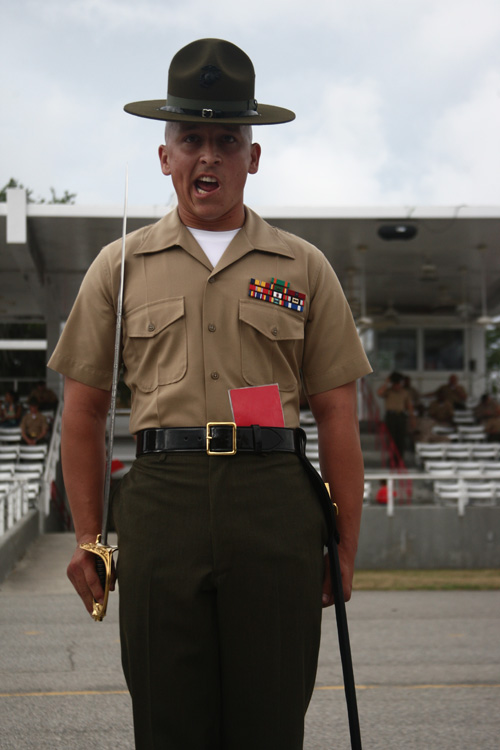 Parris Island recruits take first steps toward Marine Corps