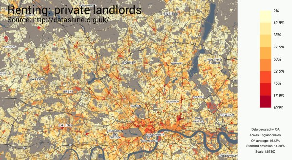 map - private renting