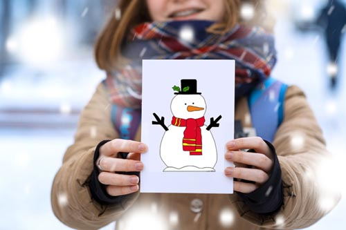 Snowman Template - Choose from 87 Free Snowman Outlines