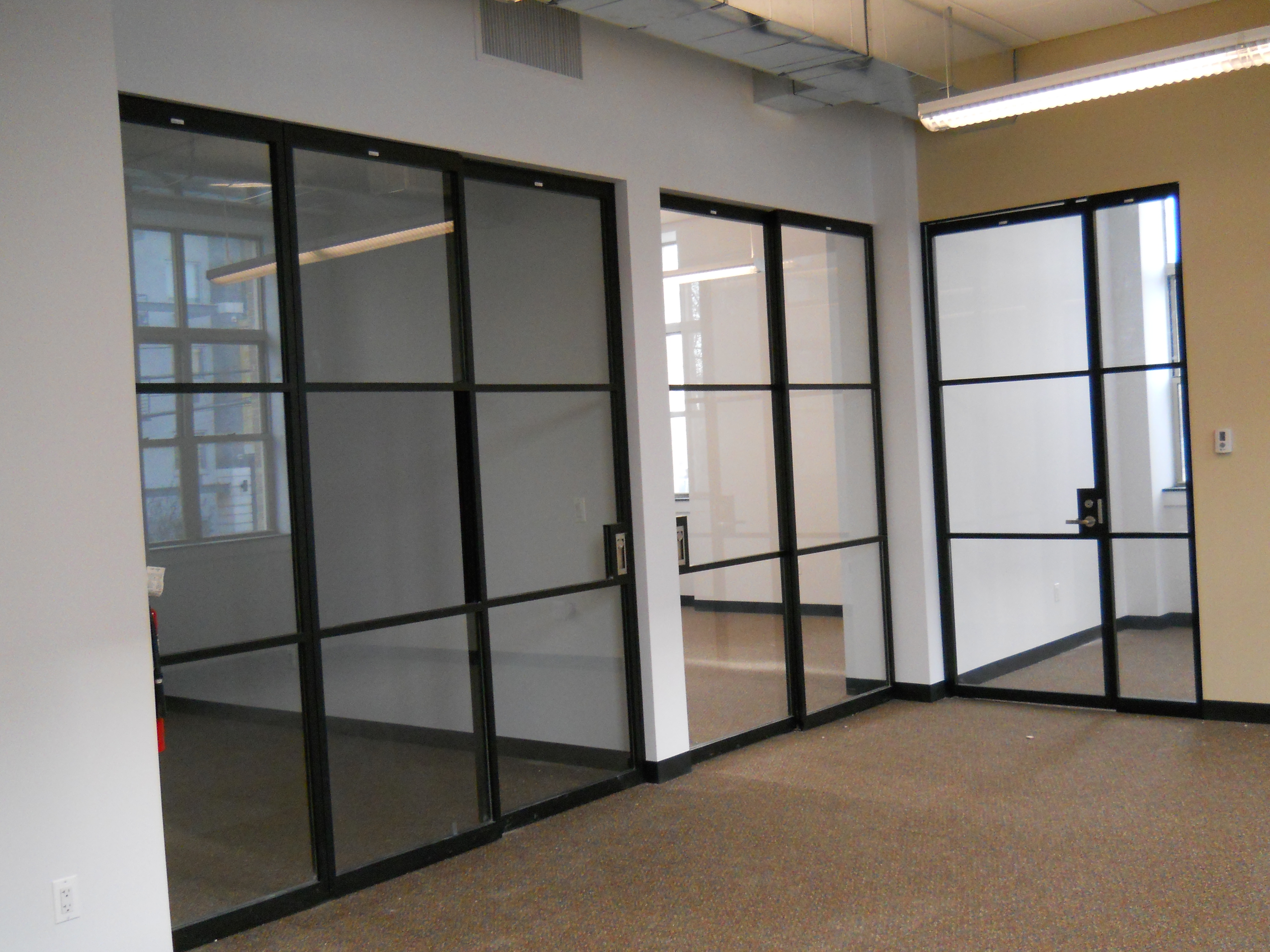 Partitions Designs Interior Glass Partitions Creating New And Transparent