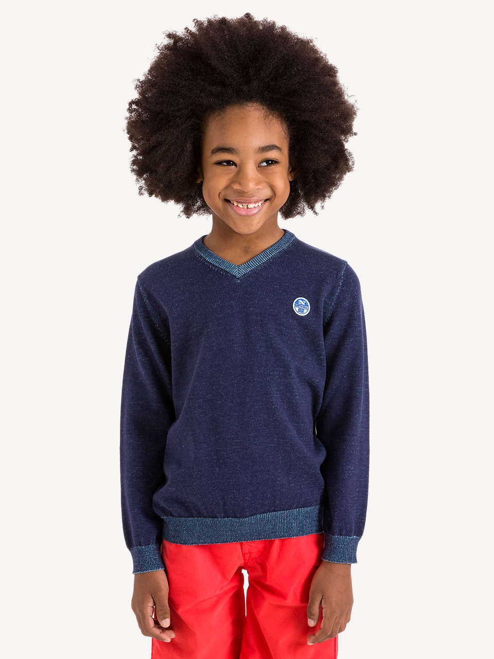 Junge 11 Jahre Basic V Neck Sweater Jungen 4 11 Jahre North Sails Collection