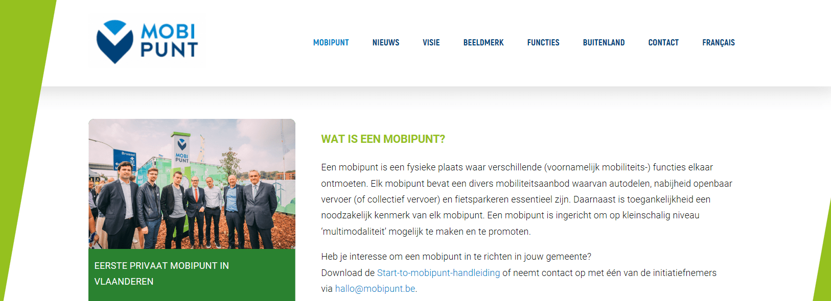 Share Websites Share North Project Launches Mobipunt Websites In Belgium And The