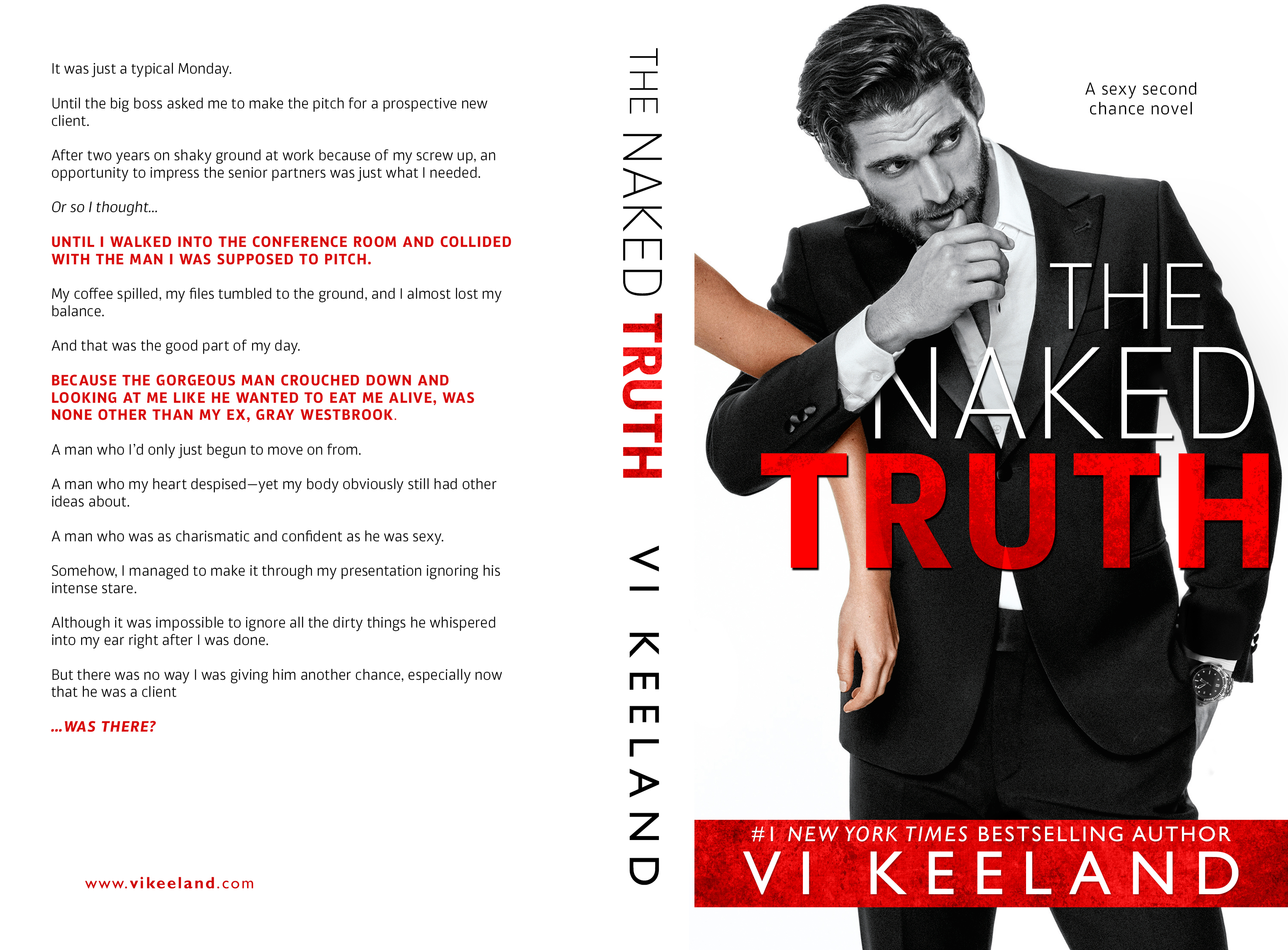 Vi Keeland Libros Cover Reveal Vi Keeland The Naked Truth