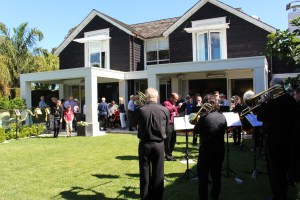 Perfect weather for our fundraising garden party