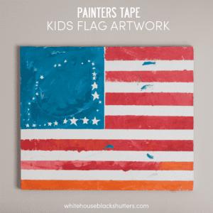 painters tape artwork