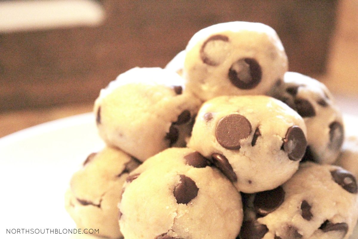 No-Bake (Gluten-Free, Vegan, Egg-less) Cookie Dough Balls