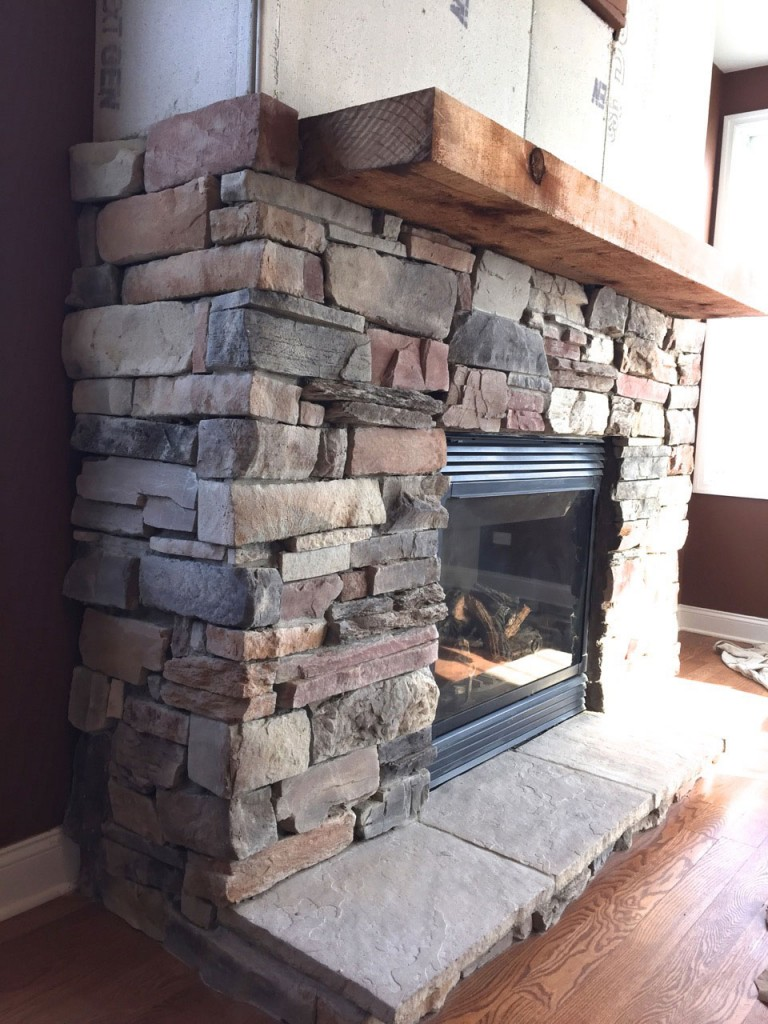Installing Cultured Stone Fireplace A Diy Stone Veneer Installation Step By Step North Star Stone