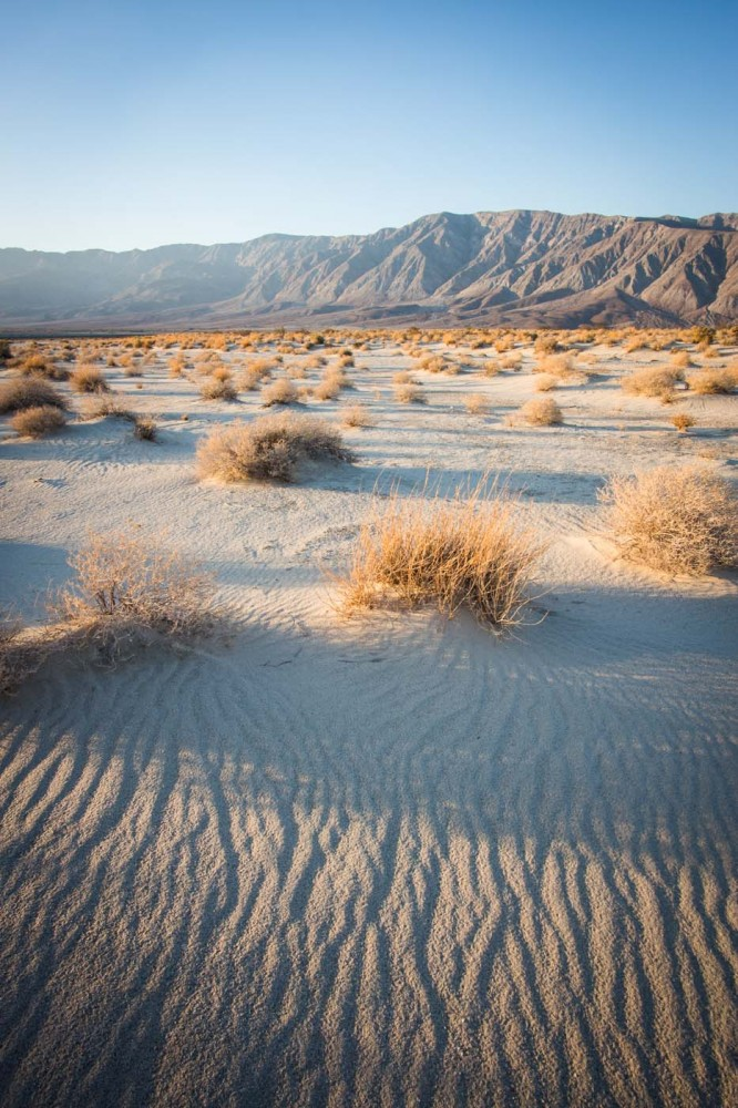 Anza-Borrego Desert State Park, California--spring locations full - land form
