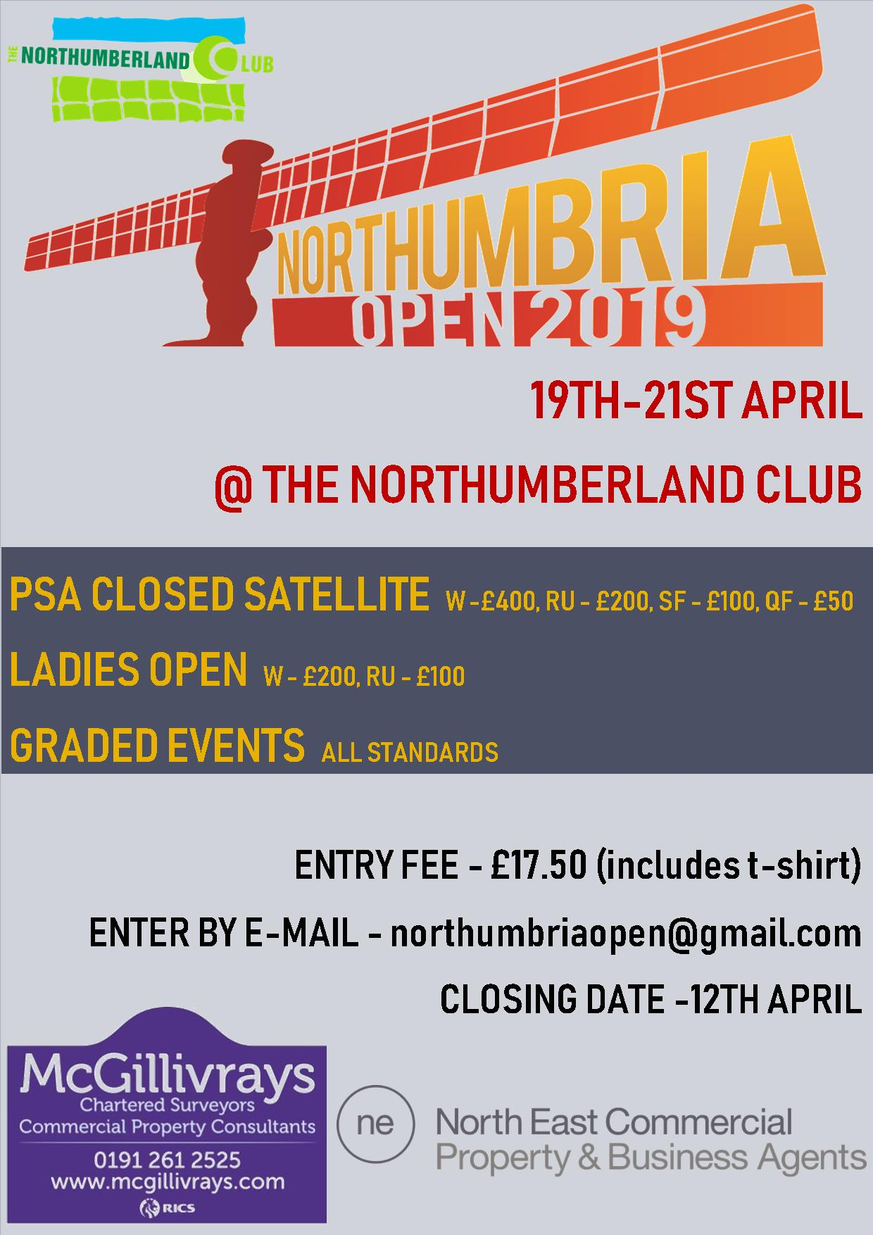 Www Enter Ru Northumbria Open 2019 Northumbria Squash