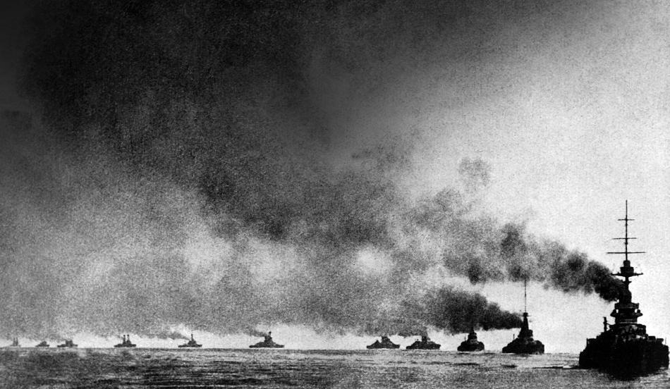 Grand Fleet at The Battle of Jutland
