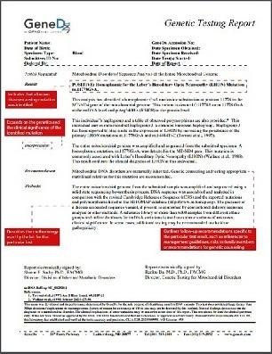 Northwell Health \u003e Tools \u003e Sample Reports - sample report