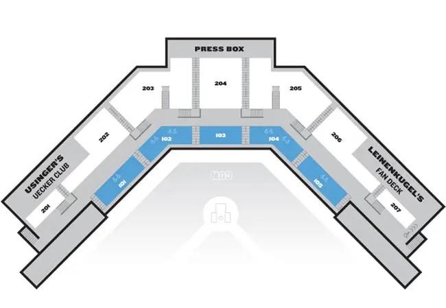 Seating Chart - Lakeshore Chinooks  Lakeshore Chinooks - seating chart