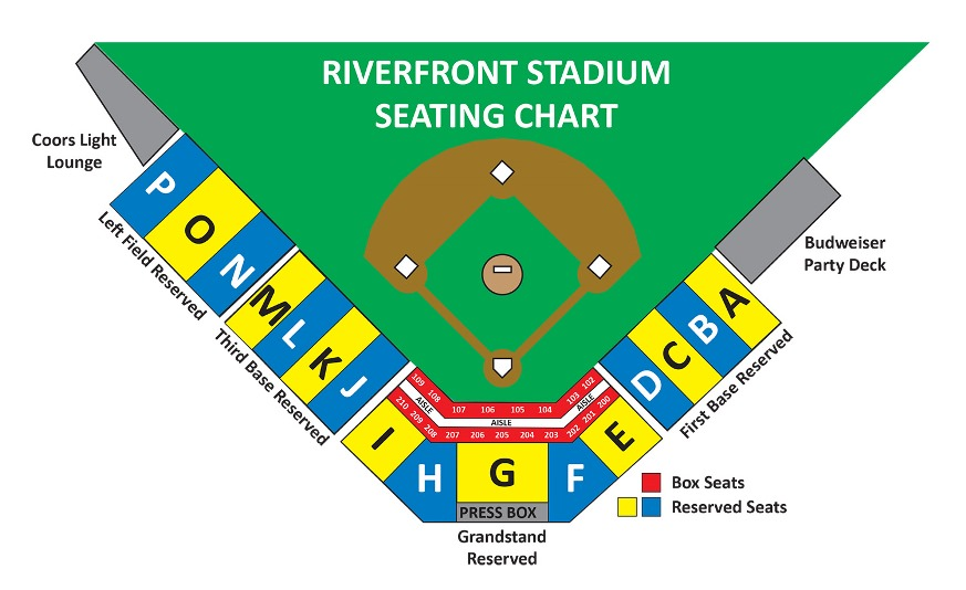 Riverside Stadium Seating Chart Elcho Table
