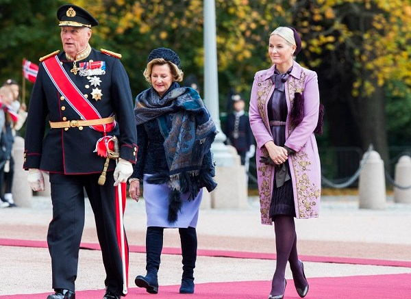 Crown Princess Mette-Marit, Queen Sonja and King Harald