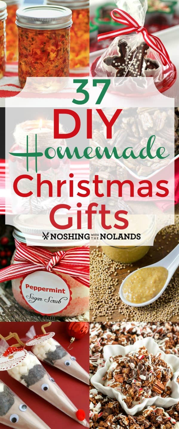 Christmas Homemade Gifts 37 Diy Homemade Christmas Gifts