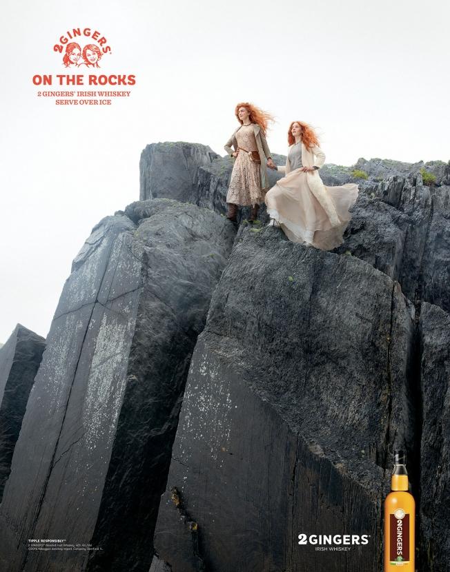2 Gingers Irish Whiskey - On The Rocks
