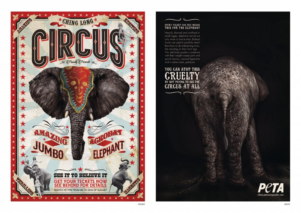 PETA - Elephant
