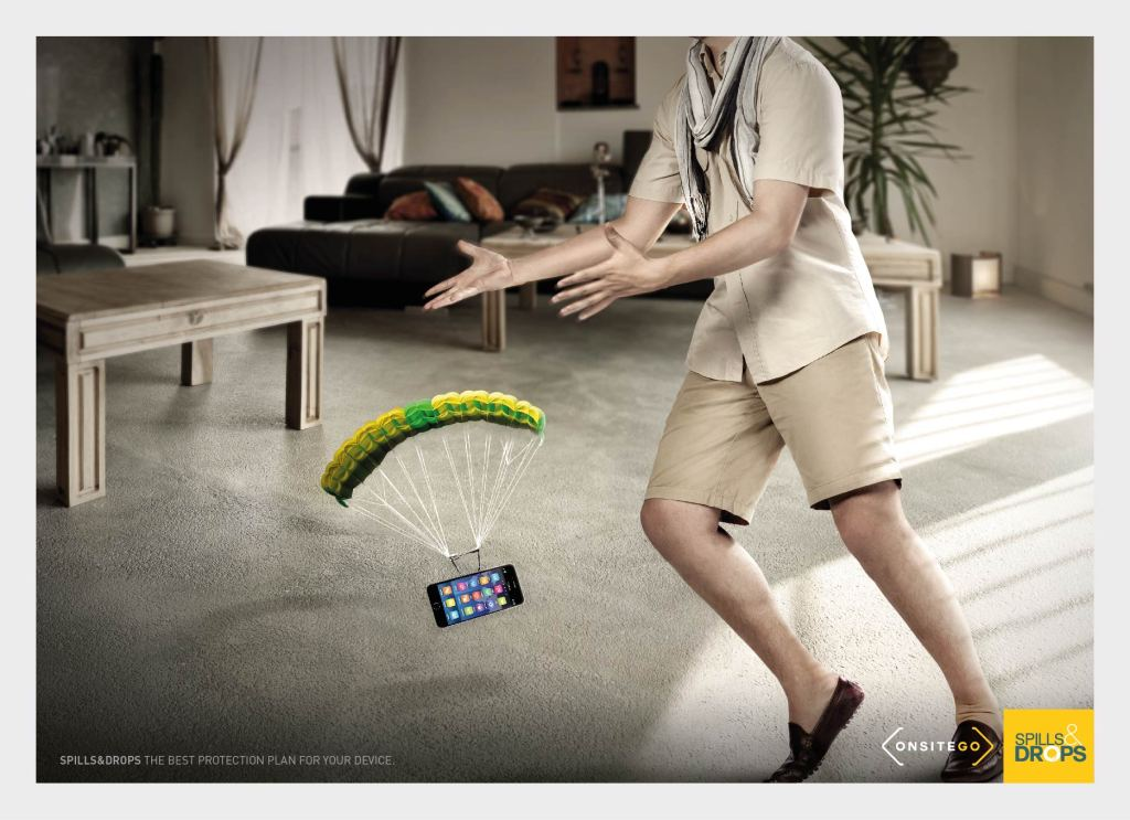 Onsitego Spills & Drops - Parachute