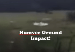 Hummer hits the Ground