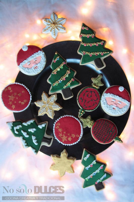 Ideas Para Decorar Con Fotos Galletas De Mantequilla Decoradas Para Navidad