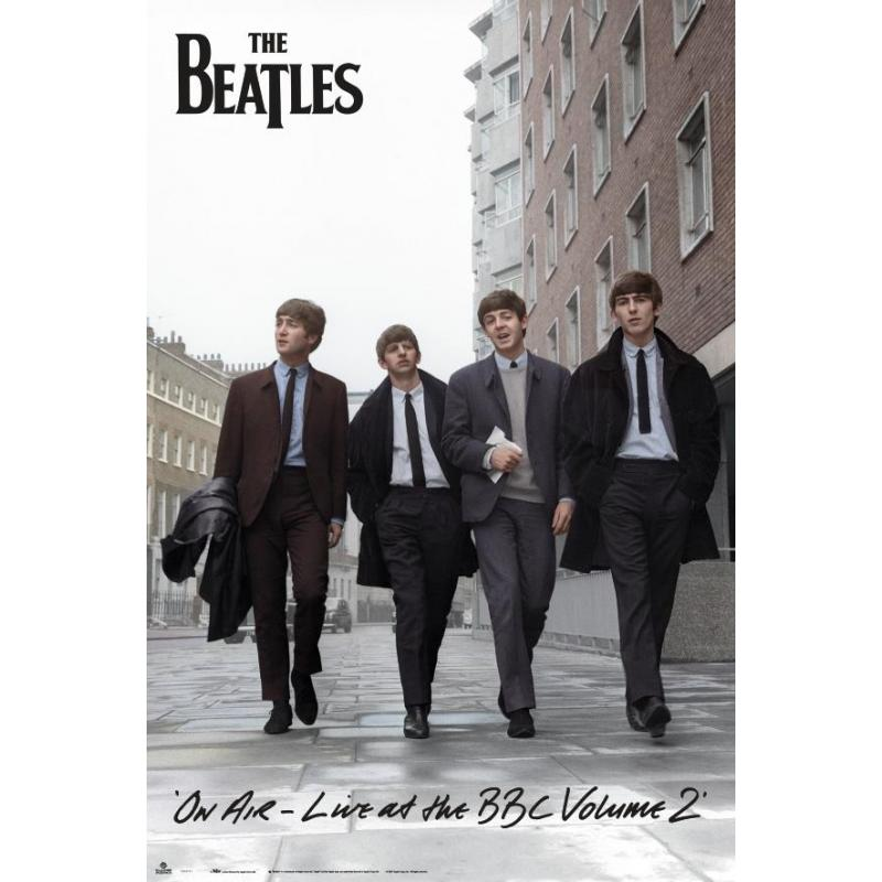 Pegatinas Decorativas Para Paredes Comprar Poster Los Beatles On Air 2013 Online