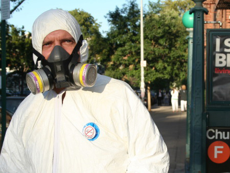 Member of No Spray Coalition, more prepared than most for pesticide spraying